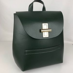 Jason Wu Suvi Olive Italian Leather Backpack